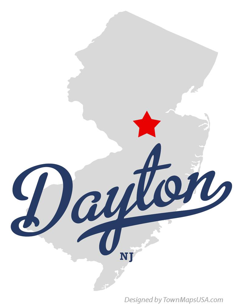 map of dayton, nj