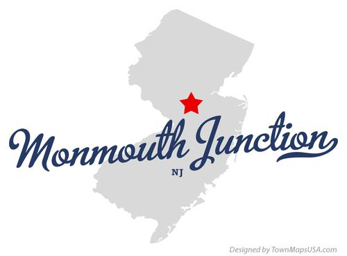 map of monmouth junction, nj